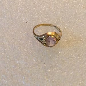 Vintage Seta gold ring